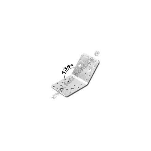 Összekötő vinklivas 90 x 90 x 65 mm 135°-os gerinc nélkül