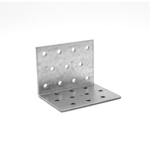 Hajlított lyukaslemez 40 x 40 x 60 mm