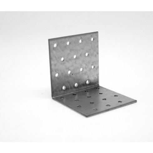Hajlított lyukaslemez 80 x 80 x 80 mm