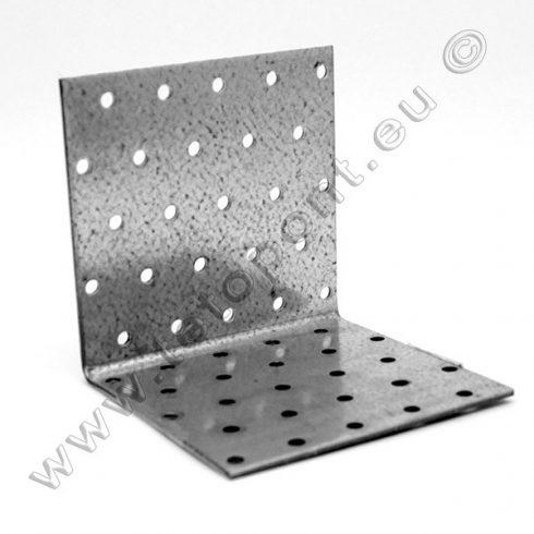 Hajlított lyukaslemez 100 x 100 x 100 mm