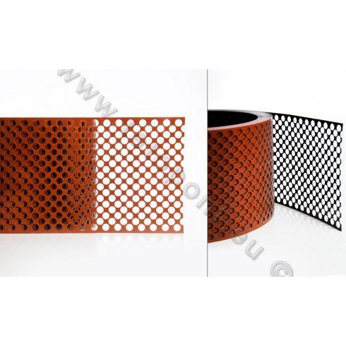 Eresz szellőző szalag alumínium 10 cm / 10 m