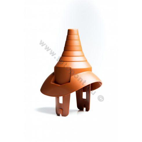 Antennakivezető műanyag alapcseréphez