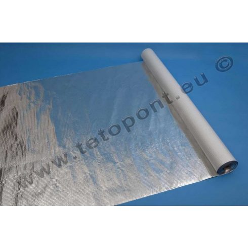 JUTAFOL N 125 AL hálóerősítésű hőtükrös fólia 125 gr/m2