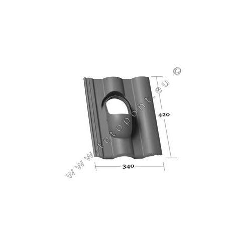 Synus tetőcserép forma Klöber Venduct® DN 110