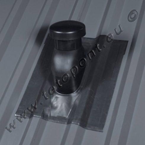 Trapézlemez fedéshez szellőzőcső kivezetés DN125