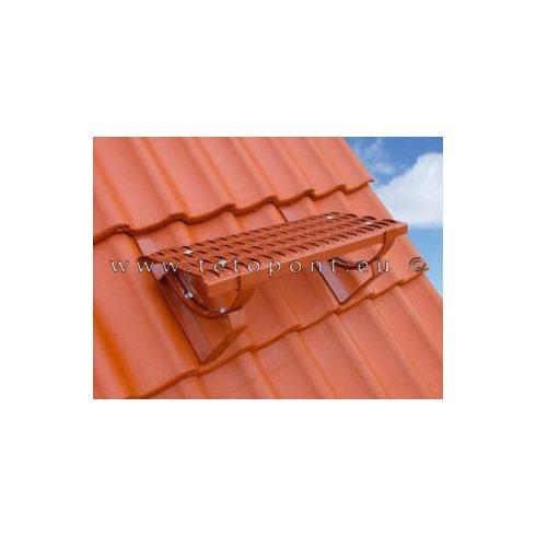 Tetőlépcső, tetőjárda garnitúra horganyzott és festett Magyar